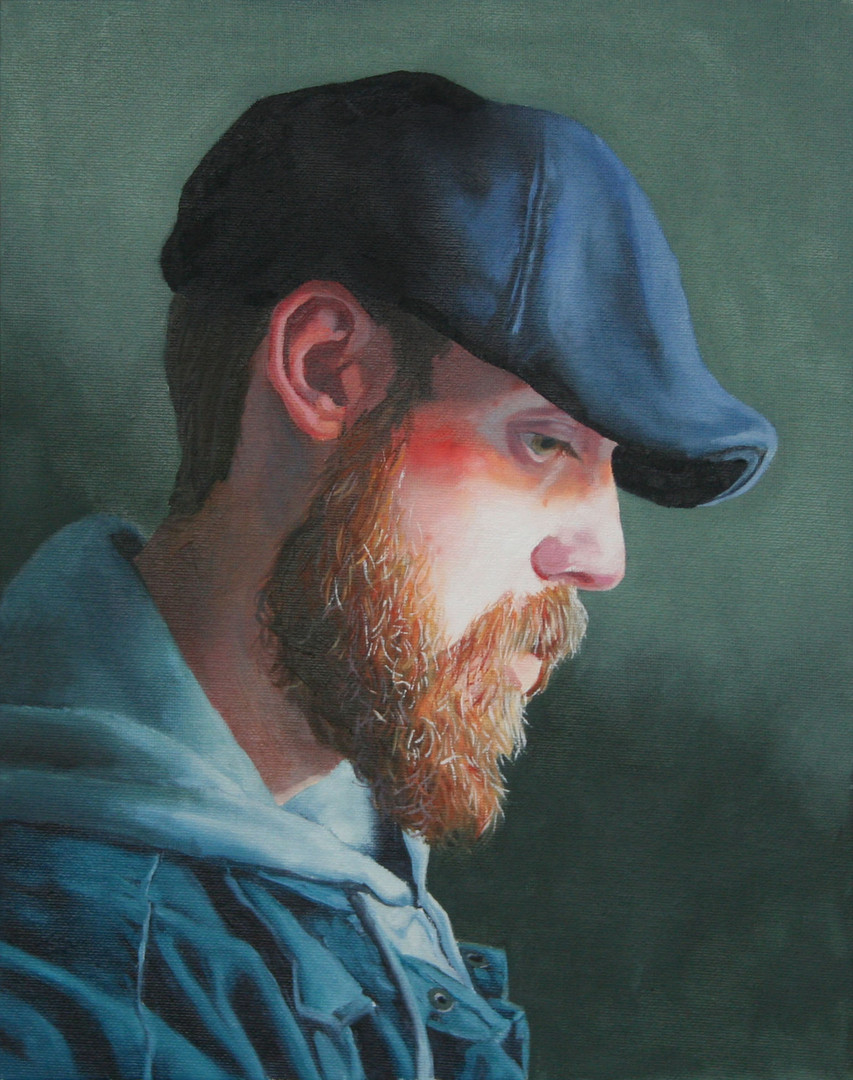 Cody Winiecki Watercolor Self Portrait.j