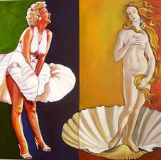 Marilyn and Venus De Milo
