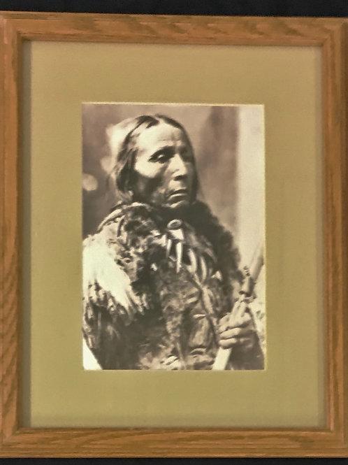 Portrait of Native American Man