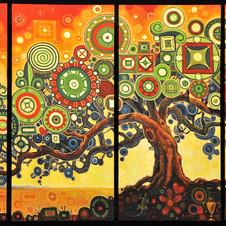 Extraordinary Dream Tree in 4 parts