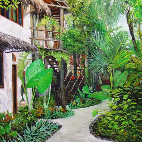 Hotel Courtyard, Mexico