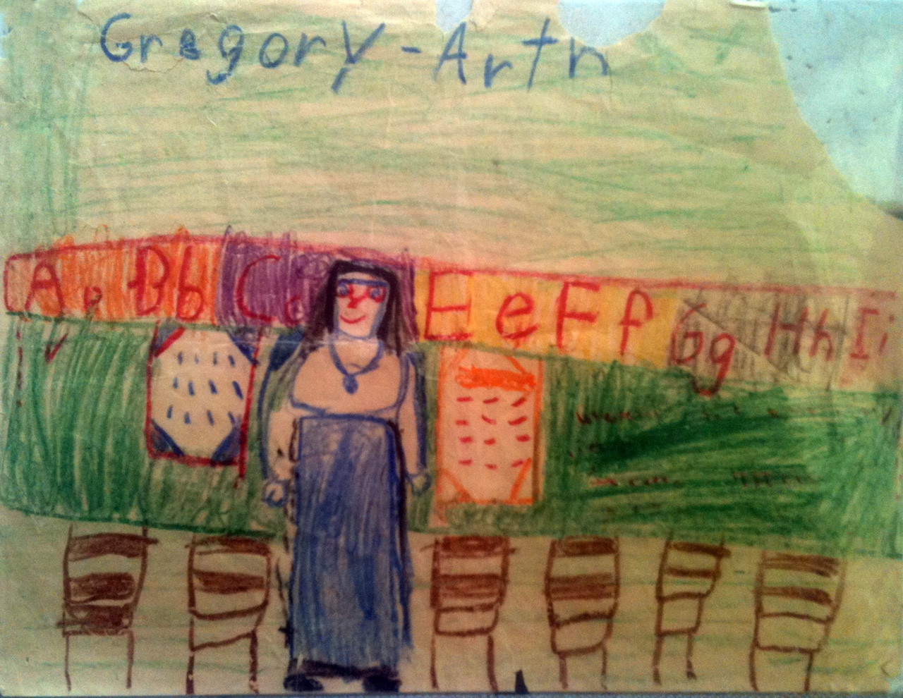 First Grade artwork .JPG