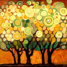 Dot Grid Trees #1