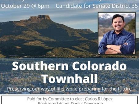 Join Colorado Senate District 35 candidate Carlos Lopez