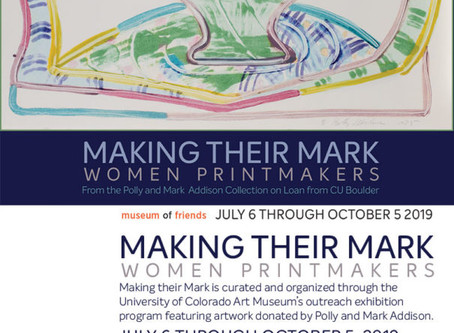 2019: Making Their Mark: Women Printmakers