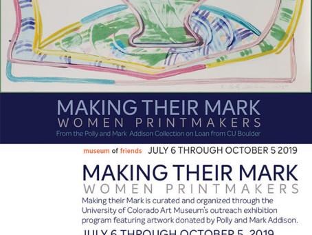 2019: Making Their Mark: Women Printmakers
