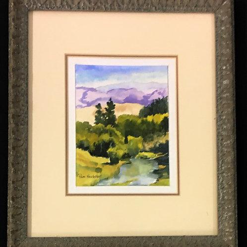Purple Mountain Fall