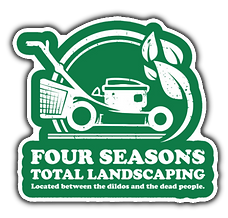 Four Seasons Total Landscaping Sticker