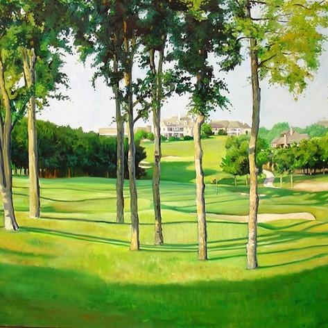 Mira Vista Golf course in Ft. Worth