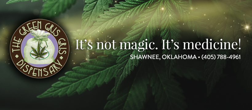 Menu Medical Marijuana Dispensary | Shawnee | The Green Gris Gris