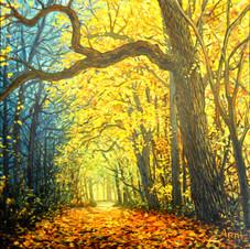 Golden Tree Arbor