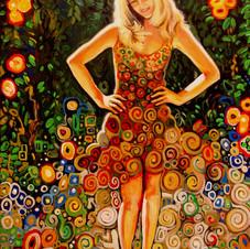 Claudia in the Garden of Eden