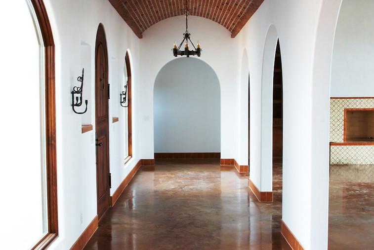 Diane Lohman Home Design-Barrel Vault Hallway