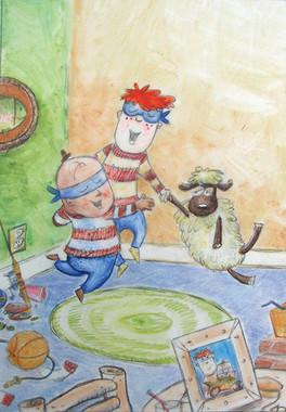 Jose, Wallace and magic sheep