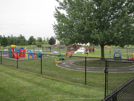 Playground at the Little Red Schoolhouse