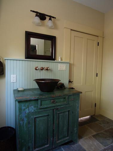 Diane Lohman Home Design-Upscaled Antique Cabinet