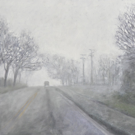 Foggy Morning #2  20_ X 24_   O_C  2018.