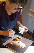 Tracy working on glazing.jpg