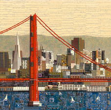 San Francisco with Golden Gate