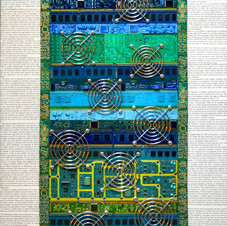Abstract Circuit Boards #2
