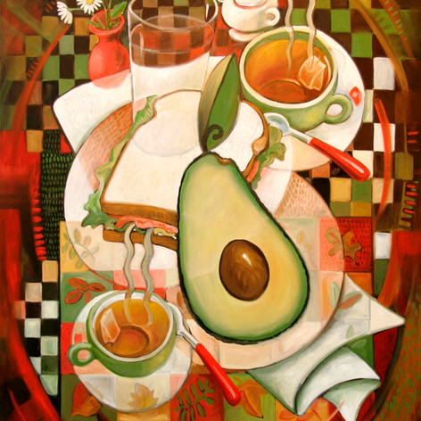 Tea For Two with Avocado