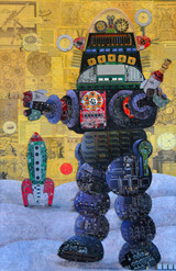 Robby the Robot  24 X 36- 2017.JPG