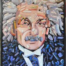 Einstein with Circuit Boards