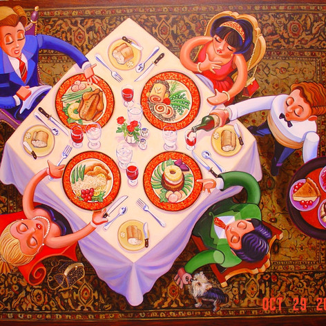 Eating Art, Dining with the Doody's