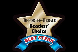 Reader's choice for best steak in loveland