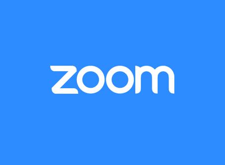 August 20, 2020 Zoom Meeting