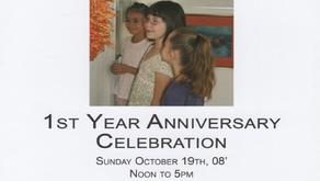2008: 1st Year Anniversary