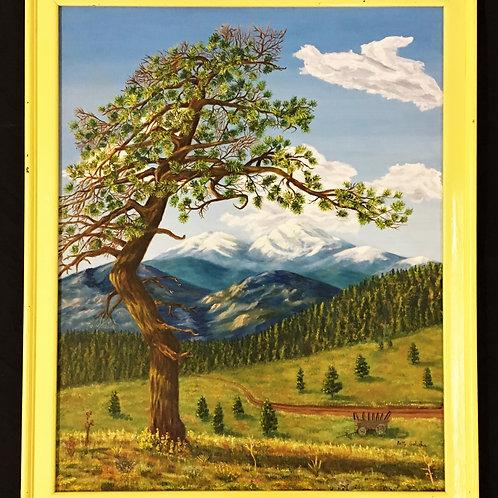 Tree & Mountains