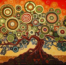 Extraordinary Dream Tree with Gold
