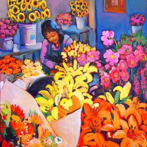 Flower Mart, Seatle