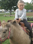 Horseriding at the Little Red Schoolhouse
