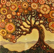 Morning Tree (square)