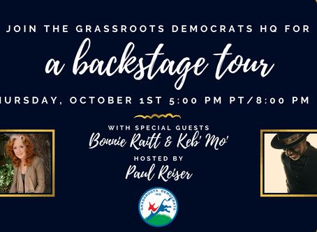 Grassroots Democrats HQ's - A Backstage Tour
