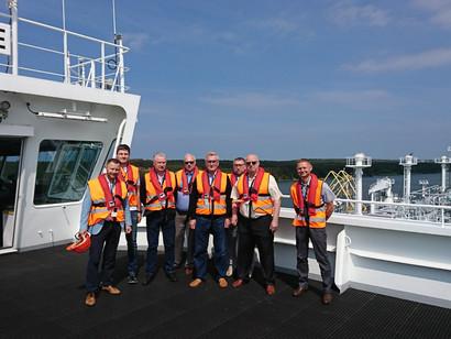LEISA nariai lankėsi Klaipėdos LNG terminale