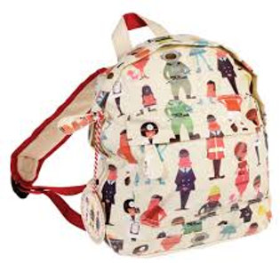 Personalised Embroidered Mini Backpack - World of Work - Add Name