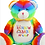 Thumbnail: Personalised Embroidered Rainbow Baby Bear - Add Any Design or Text