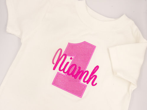 Personalised Birthday Number T-Shirt