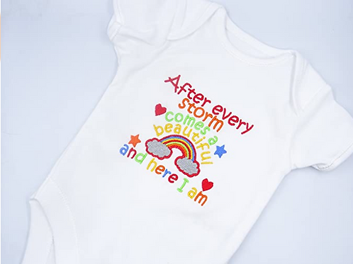 Rainbow After Every Storm Short Sleeved Vest