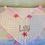 Thumbnail: Personalised Baby Boy or Girl Dimple Blanket With Tags (Pink Dimple)