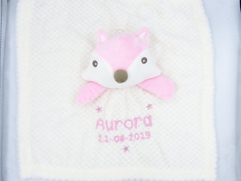 Personalised Name and Date(Optional) Squirrel Comforter