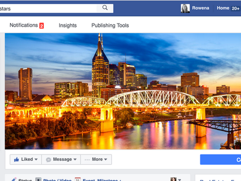 Nashville Facebook Page Launched