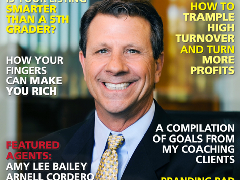 Patton featured in Top Agent Magazine, International edition