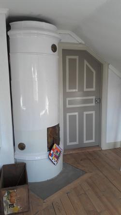 Tiled Stove Room
