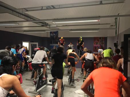 Marathon de spinning à Martigny