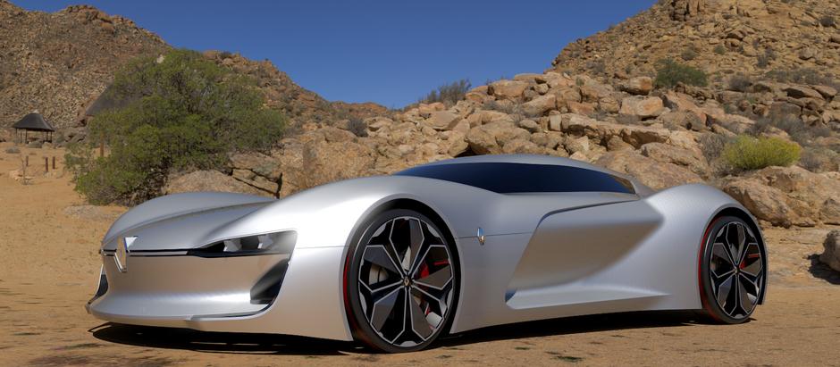 Amazing Details Behind the Renault Trezor Model