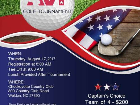 AVT Golf Tournament: August 17, 2017